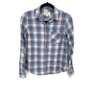 Current/Elliot The Slim Boy Shirt Paradise Plaid